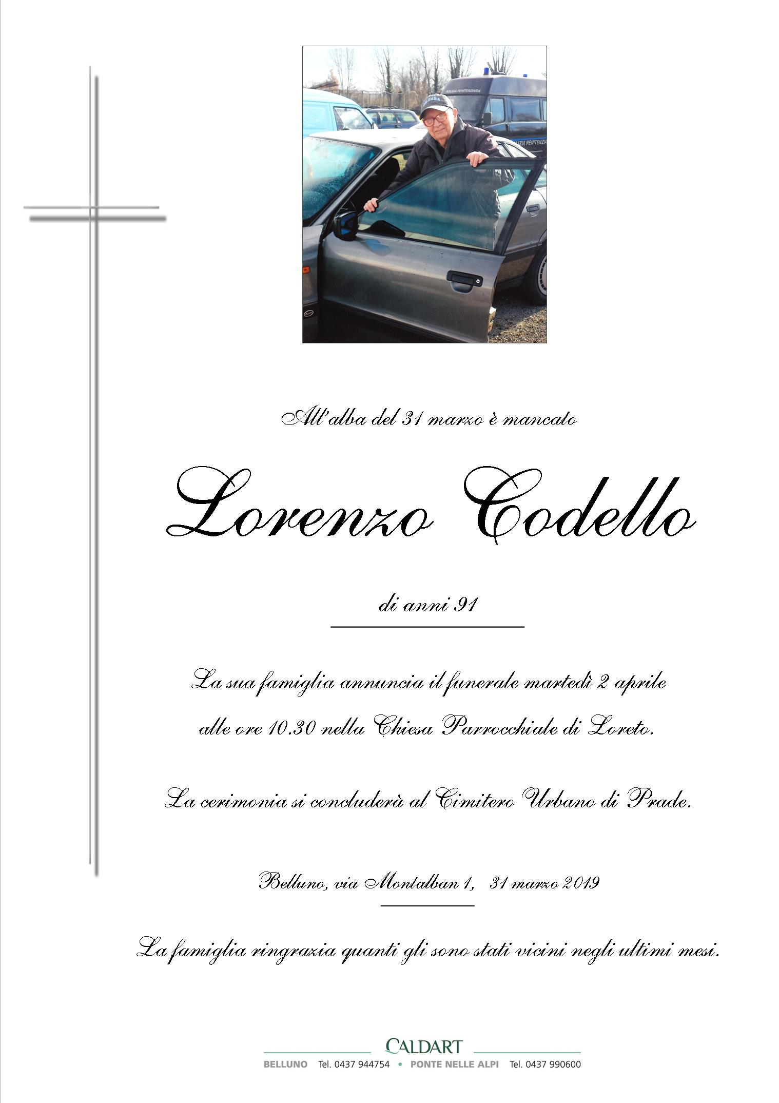 Codello Lorenzo